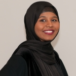 Photo of HealthFinders Community Health Worker Bisharo Farah